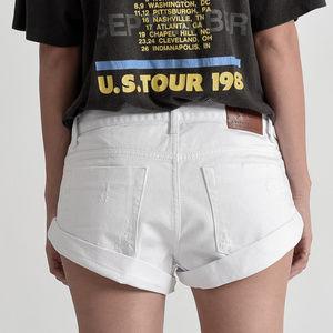 """White Beauty Bandits"" Shorts"